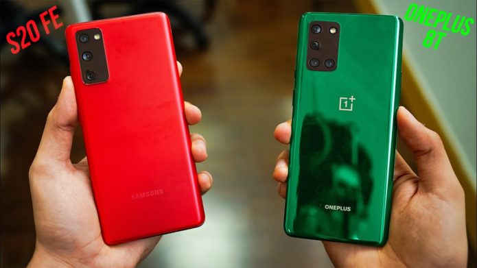 Samsung Galaxy S20 FE vs. OnePlus 8T: Which should you buy?