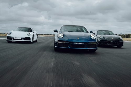 Porsche 911 Turbo S cracks 300km/h at Sydney Airport