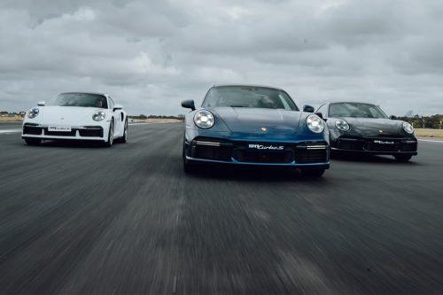 Porsche 911 Turbo S cracks 300km/h at Sydney Airport