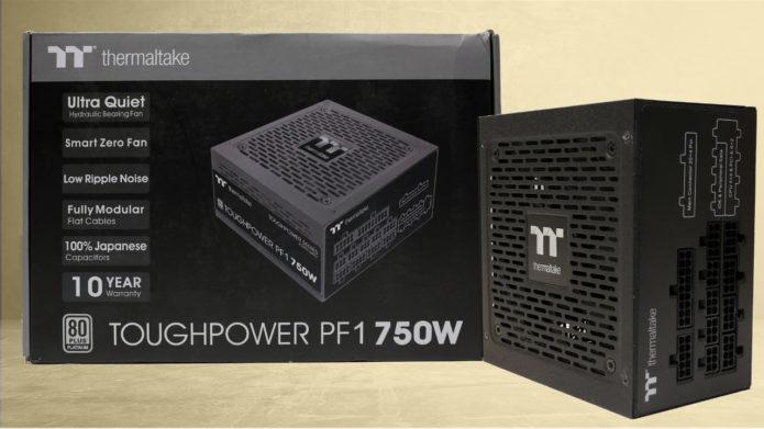 Thermaltake Toughpower PF1 750W Power Supply Review