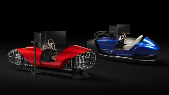 Pininfarina and Zagato built these classic car racing simulators for the eClassic Racing Club