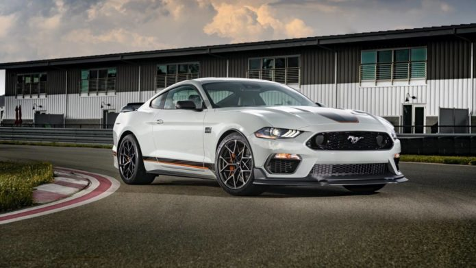 2021 Ford Mustang Mach 1 finally gets a price tag