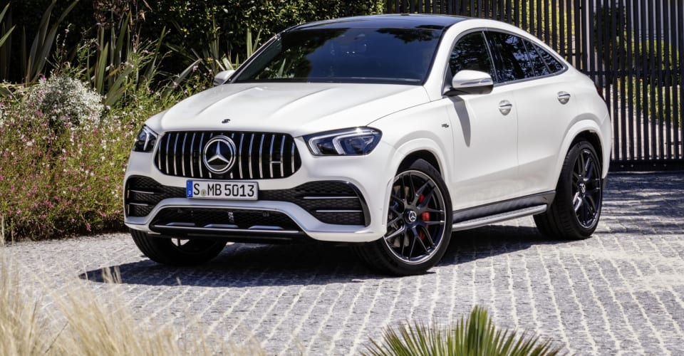 2021 Mercedes-AMG GLE Coupe Review
