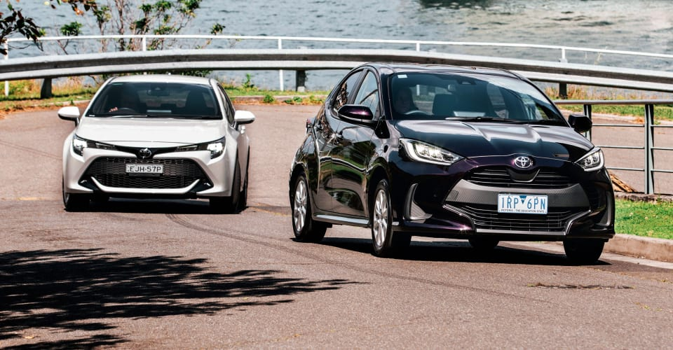 Yaris v Corolla: Would you like to upsize?