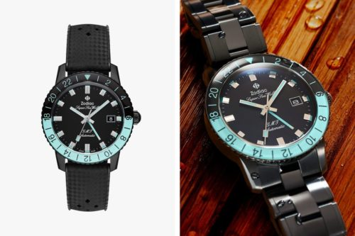This Blacked-Out Dive Watch Is Perfect for Travel