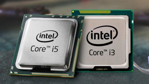 Intel Core i3 vs. Core i5 CPUs