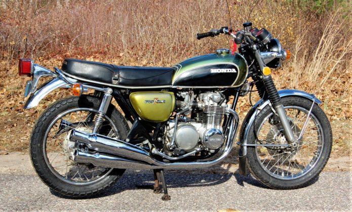 1973 Honda CB500K2 OEM-Spec Four-into-Four Exhaust: Review