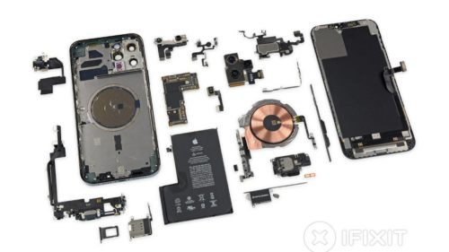 iPhone 12 Pro Max iFixit teardown puts size into perspective