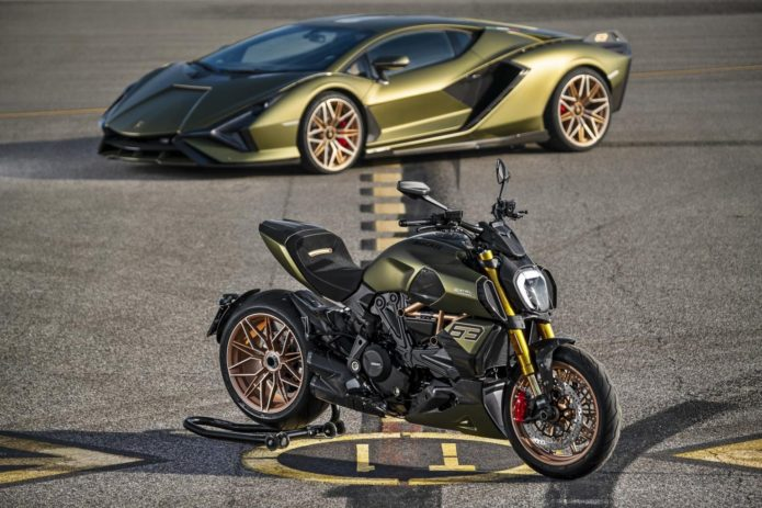 2021 DUCATI DIAVEL 1260 LAMBORGHINI FIRST LOOK (12 FAST FACTS)