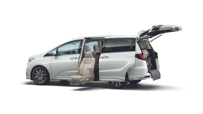 2021 Honda Odyssey JDM model gets outward extending seats