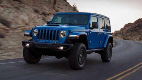 5 Things to Know About the New V8 Jeep Wrangler