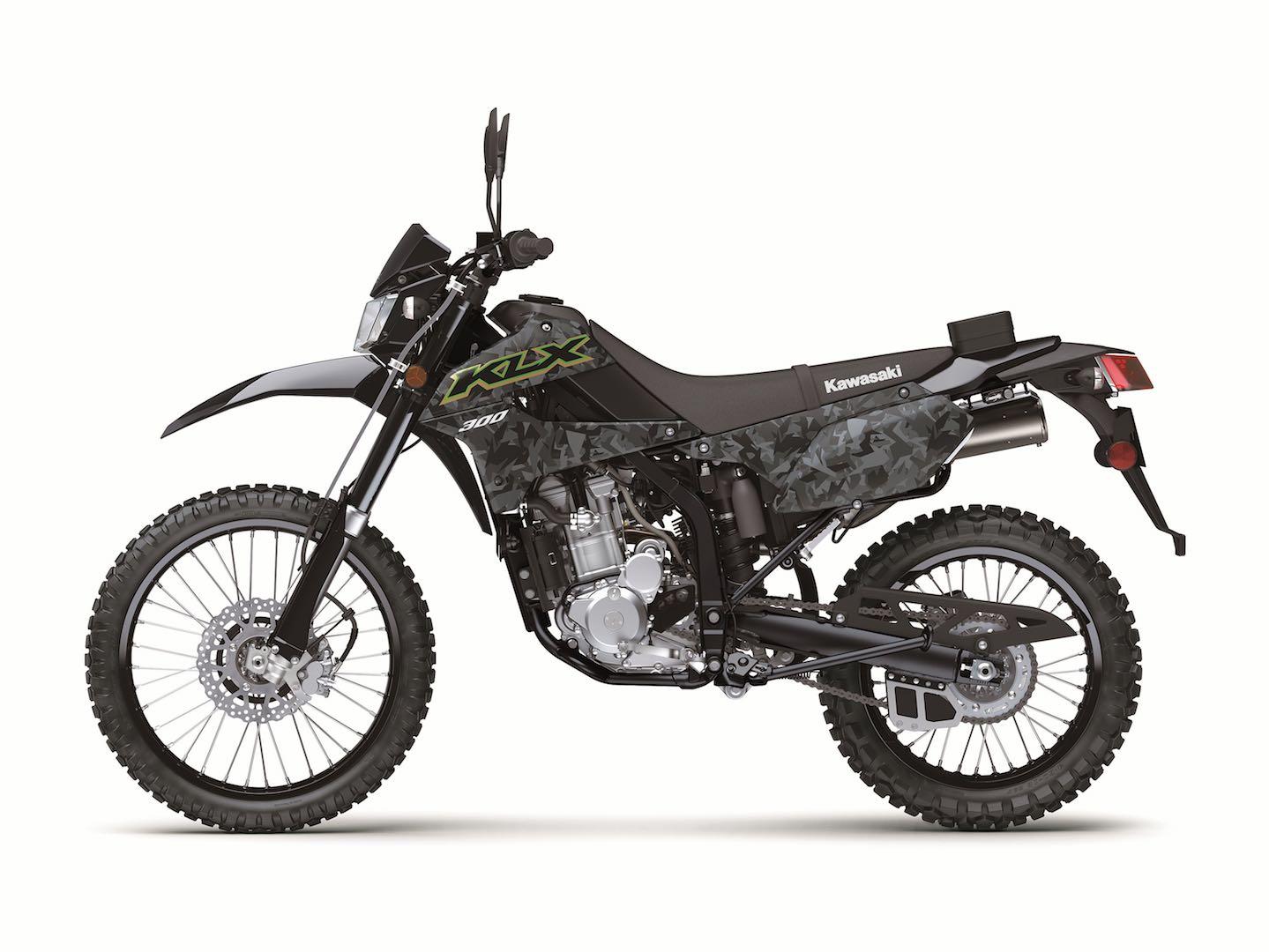 2021 Kawasaki KLX 300 And KLX 300SM First Look