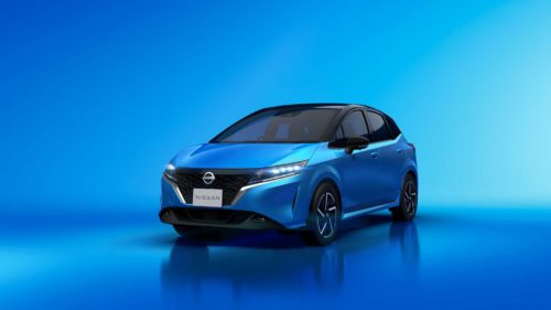 2021 Nissan Note Revealed With Electrified Power, Modern Design