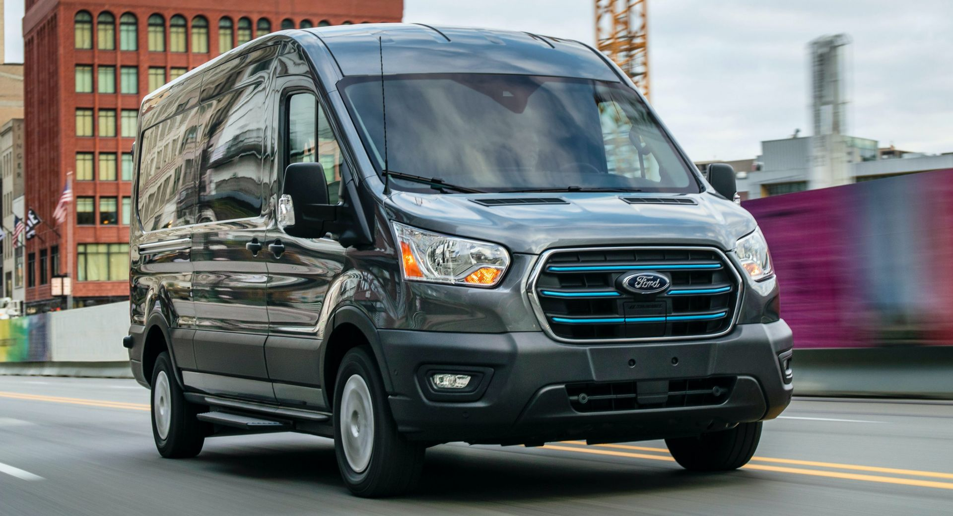 2022 Ford E-Transit electric van will make delivery services greener