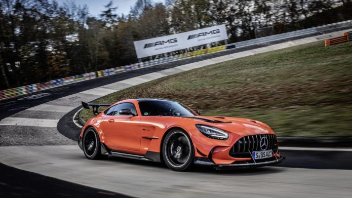 2021 Mercedes-AMG GT Black Series is the fastest production car around the Nürburgring