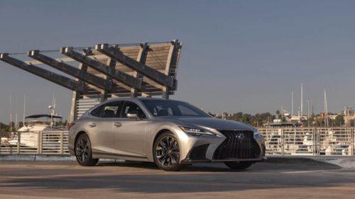 2021 Lexus LS Gets F Sport Parts From Modellista