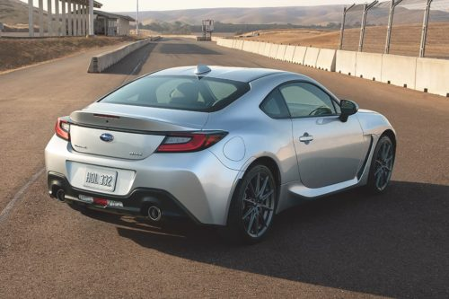 Six cool things about the new Subaru BRZ