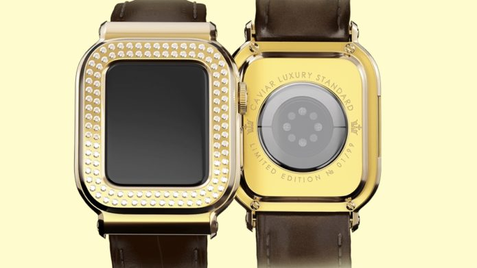 Caviar has made a $45k Apple Watch for rich idiots