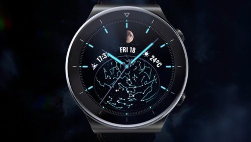 Huawei Watch GT2 Pro adds moon tracking with Moonphase Collection