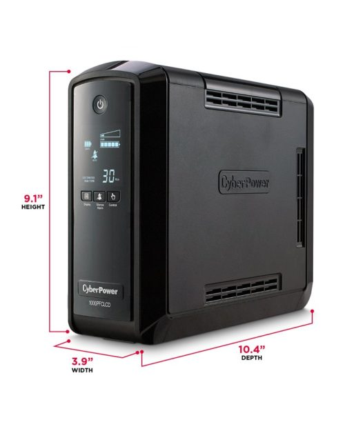 Cyberpower PFC Sinewave CP1000PFCLCD UPS review