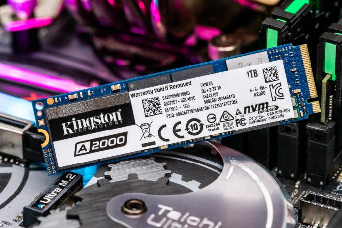 500GB Kingston A2000 SSD M.2 NVMe Review