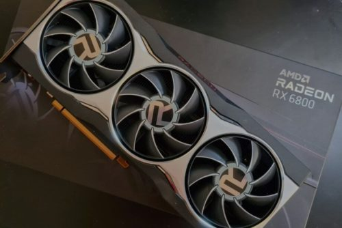 When will stock for AMD RX 6800 graphics cards return?