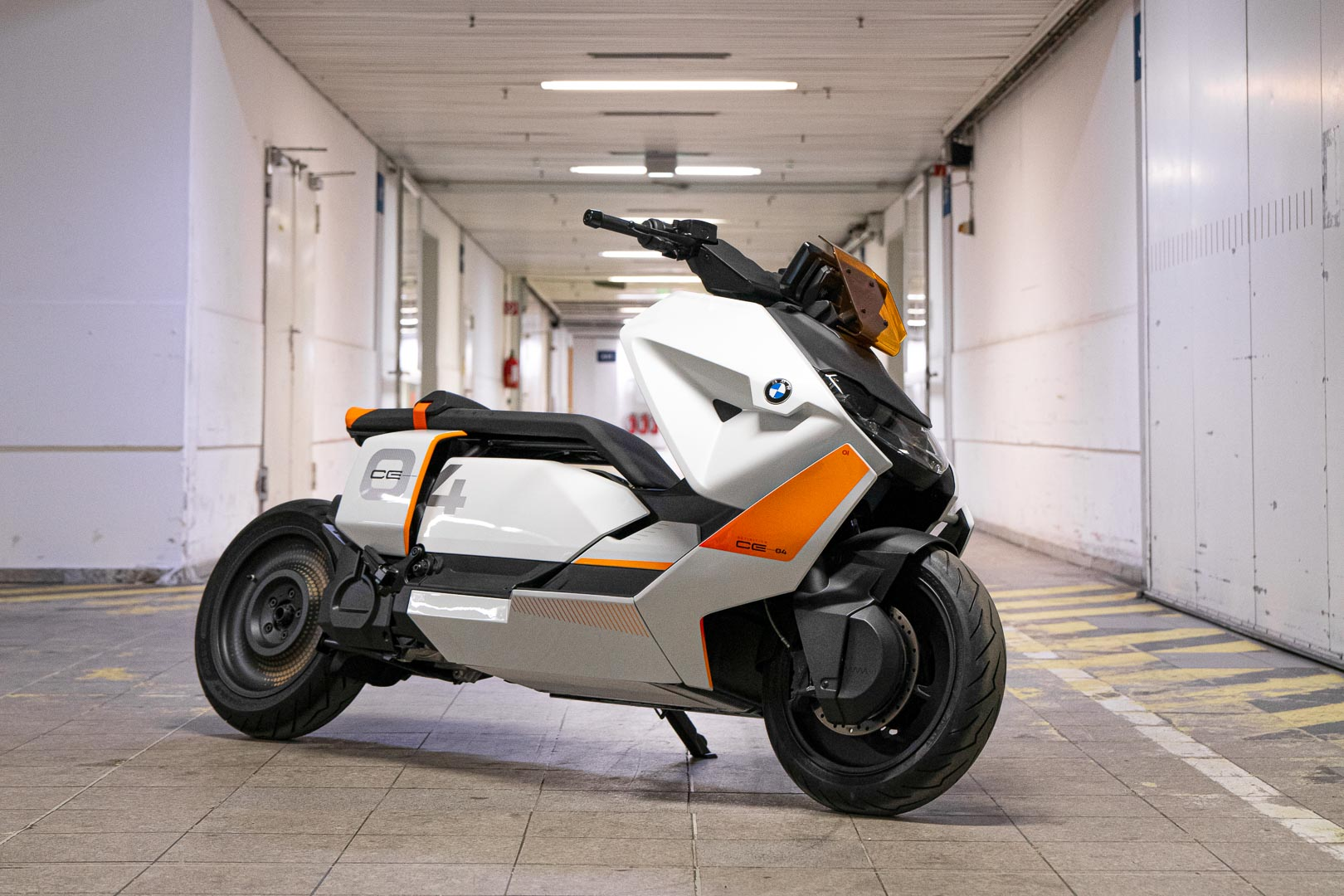 BMW Definition CE 04 Concept Scooter First Look