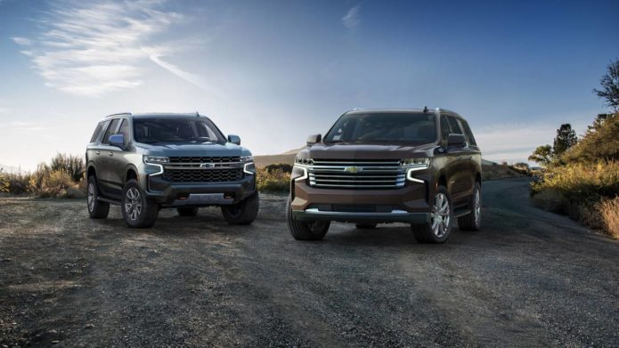 Performance parts for the 2021 Chevrolet Tahoe and Suburban revealed