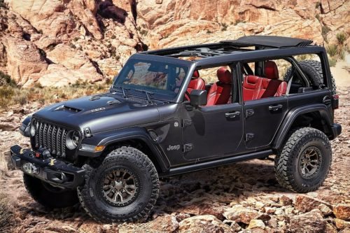 Jeep Wrangler V8 is go! Australia yet to be confirmed