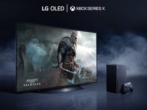 LG OLED TV is the official partner of the Xbox Series X