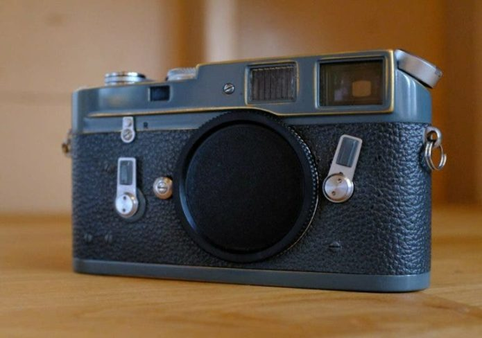 You Need This Stunning Gray Leica M4 with Patina in Your Life