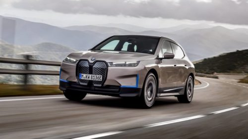 BMW iX is a 300 mile luxury electric SUV coming in 2022