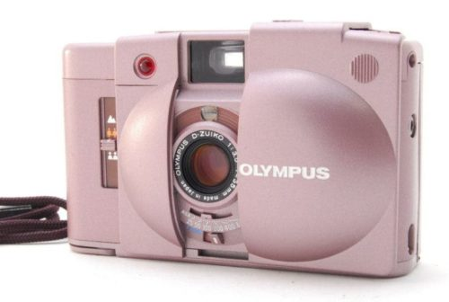 The Story of the Extremely Rare Pink Olympus XA-2