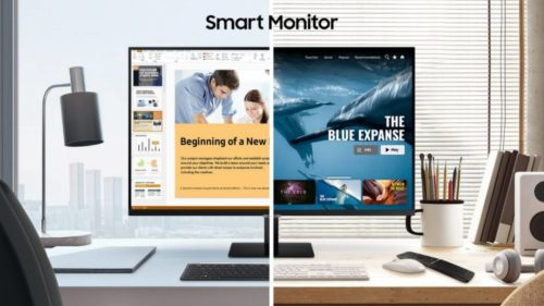 Samsung Smart Monitor is also a smart TV with Wi-Fi, Smart Hub app
