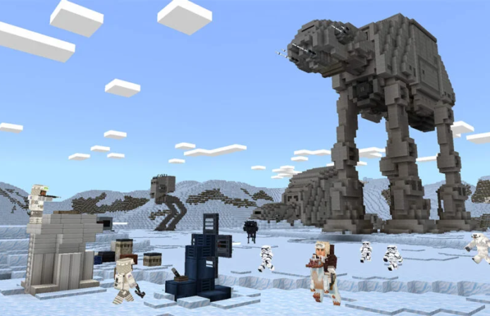 Star Wars and The Mandalorian (including Baby Yoda) come to Minecraft
