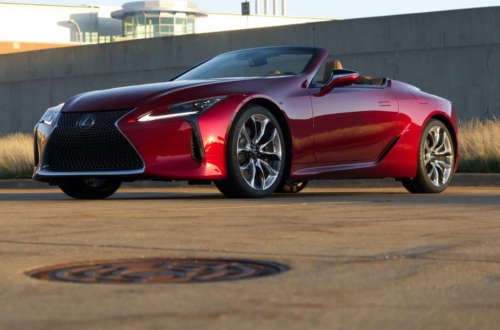 Four reasons I'm still thinking about the 2021 Lexus LC 500 Convertible