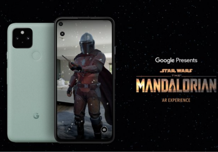 The Mandalorian AR app from Google brings Baby Yoda to your living room