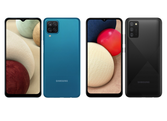 "Samsung Galaxy A12 and Galaxy A02s announced: 6.5"" screens and 5,000 mAh batteries"