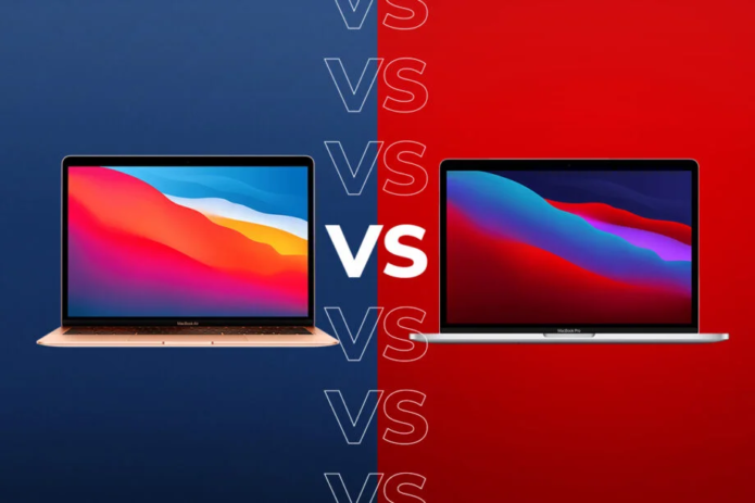 MacBook Pro with M1 vs MacBook Air with M1: What's the difference?