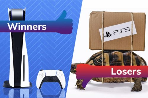 Winners and Losers: The PS5 arrives in style, but shipping issues cause havoc