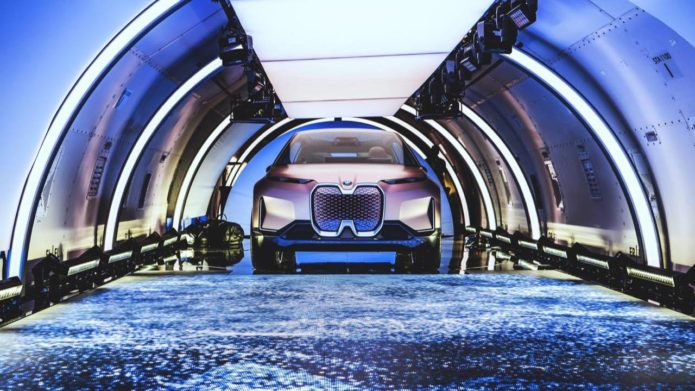 This is when we'll see the BMW iNEXT all-electric SUV first