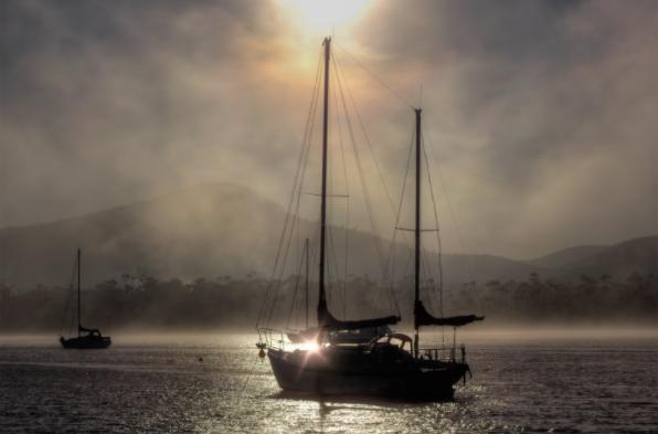 boat camping