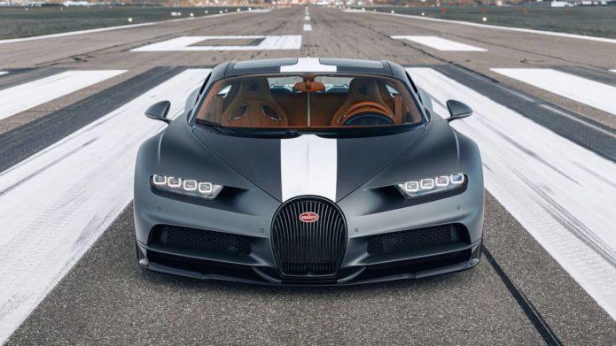 Bugatti Chiron Sport Les Légendes du Ciel pays tribute to aviation legends