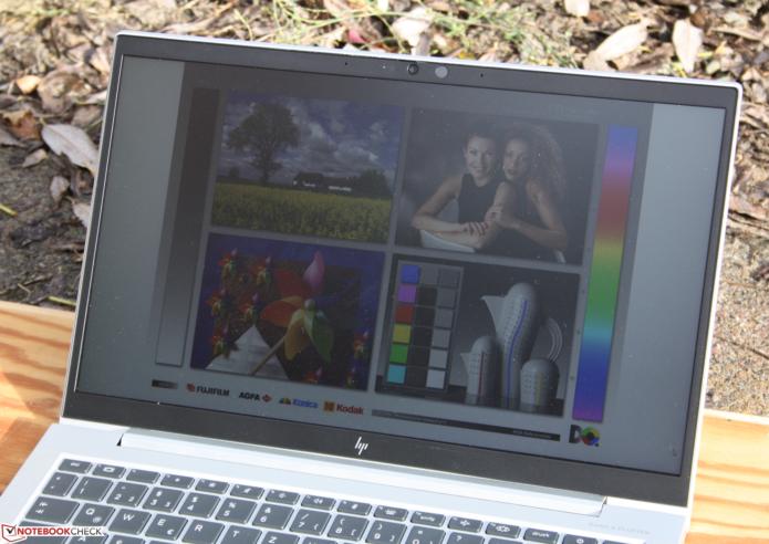 HP EliteBook 845 G7: Top laptop suffers from too dim display