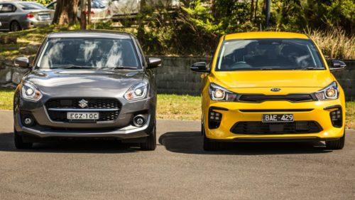 2020 Kia Rio v Suzuki Swift comparison: Small hatch review