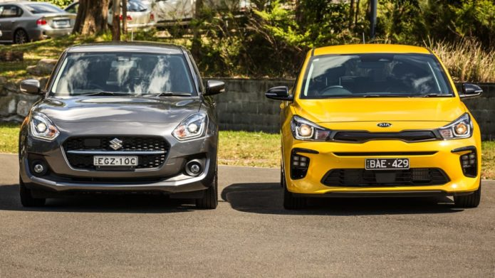 2020 Kia Rio v Suzuki Swift comparison: Small hatch review