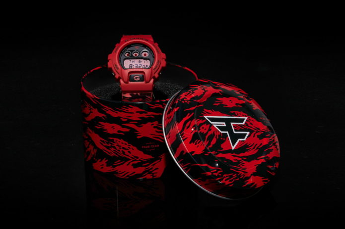 G-Shock's striking FaZe Clan DW6900 is the brand's first eSports collaboration
