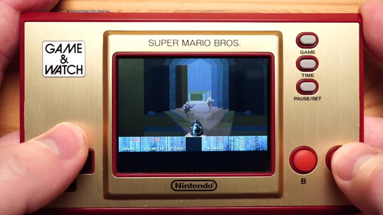 Nintendo Game & Watch hack runs DOOM but don't get your hopes up