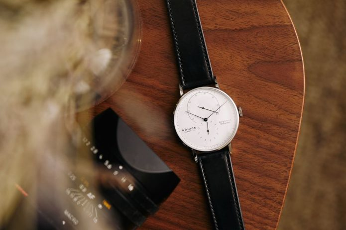 The NOMOS Lambda Steel Makes a Strong Case to Be Your Everyday Watch