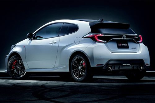 Track-honed Toyota Yaris GR Rallye sticker shock